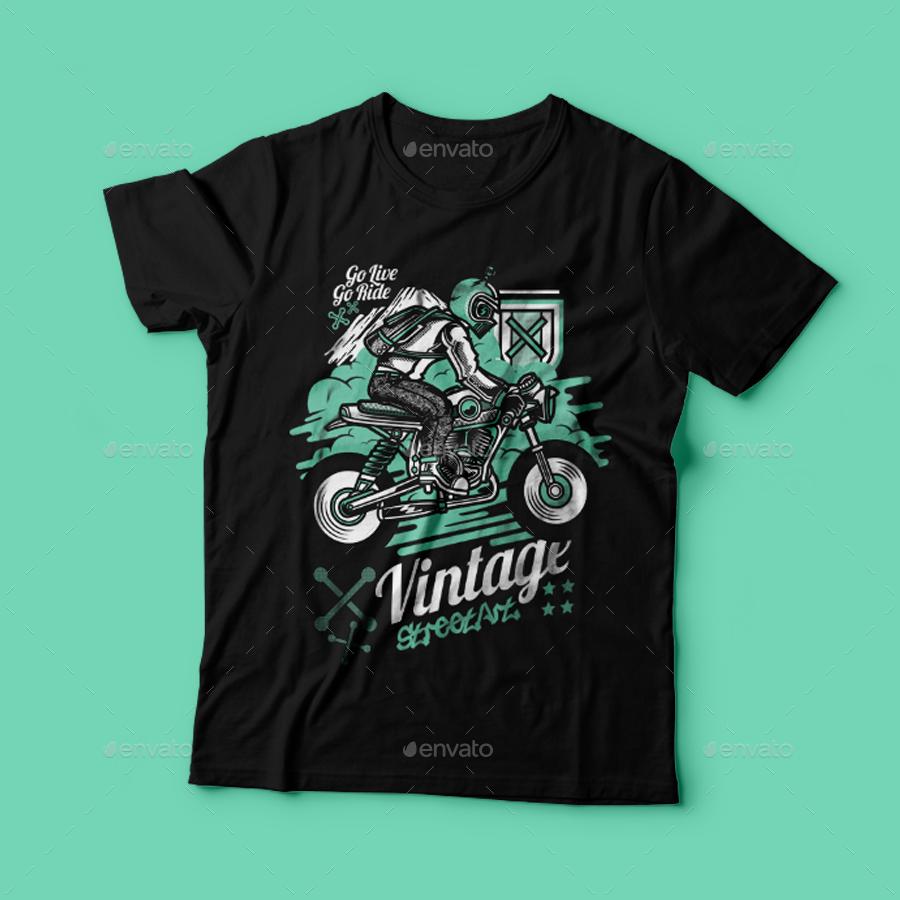 Shirt design vintage - Preview1 Png