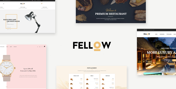 Leo Fellow - eCommerce PSD Template