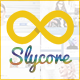 Slycore Responsive Flatstrap Blogger Template