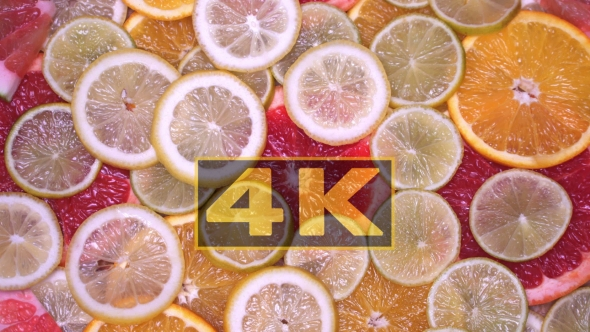 Download Vitamin Citrus Fruits Lemon, Orange, Lime, Pomelo, Grapefruit Rotating nulled download