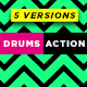 Drums Action Logo