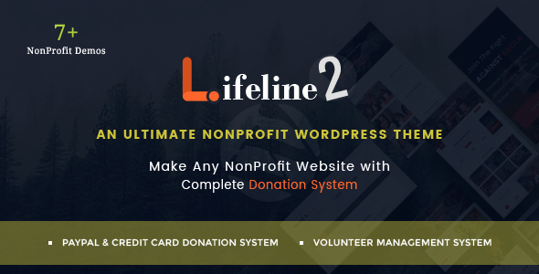 Download Lifeline 2 - An Ultimate Nonprofit WordPress Theme for Charity, Fundraising and NGO Organizations nulled download