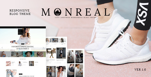 Download Monreal — Responsive Blog WordPress Theme nulled download