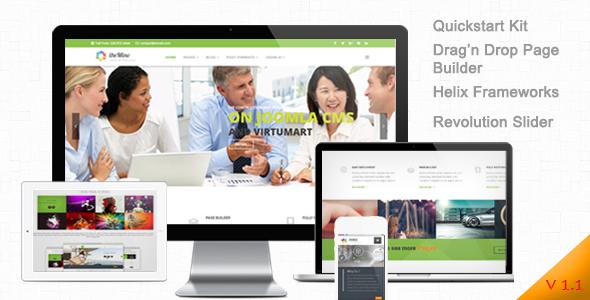 Mino - Business, Coporate Joomla 3 Responsive Templates