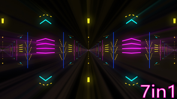 Download VJ Tunnel Light Projections nulled download