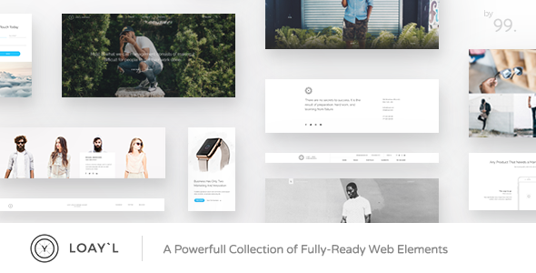 LOAY`L | Multipurpose HTML with Page Builder