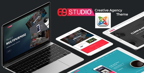 69Studio - Creative Agency Business Joomla Template