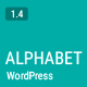 Alphabet - A Responsive WordPress Blog Theme