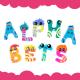 Cute Cartoon Alphabet Set