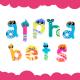Cartoon Alphabet Small Letters