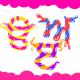 Punjabi Letters Set (Gurmukhi) in Cute colorful style