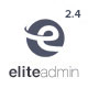 Elite Admin - The Ultimate Dashboard Web App Kit + Material Design + PHP