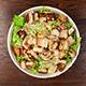 Heathy Salad Eating