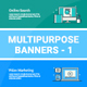 Multipurpose Banners Set1