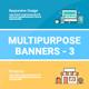 Multipurpose Banners Set 3