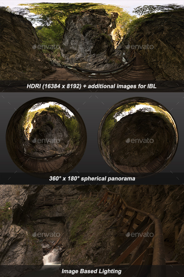 Wolfsklamm I HDRI - 3DOcean Item for Sale
