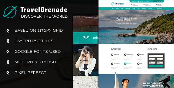 TravelGrenade-Theme for Travel