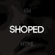 Shoped - Minimal, Commerce Template