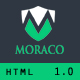 MORACO – Personal Vcard Resume HTML Template (Resume / CV) Download