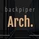 backpiperArch - Architecture,Interior, Portfolio PSD Template