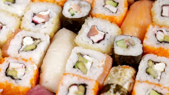 Download Fresh Japanese Sushi And Rolls nulled download