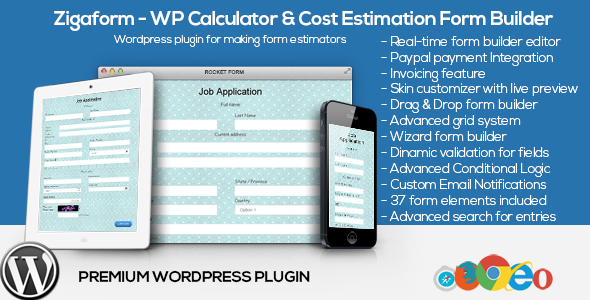 Zigaform - WordPress Calculator & Cost Estimation Form Builder