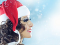 Christmas Woman - PhotoDune Item for Sale