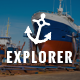 Explorer - Factory Construction & Ship Building Joomla Theme