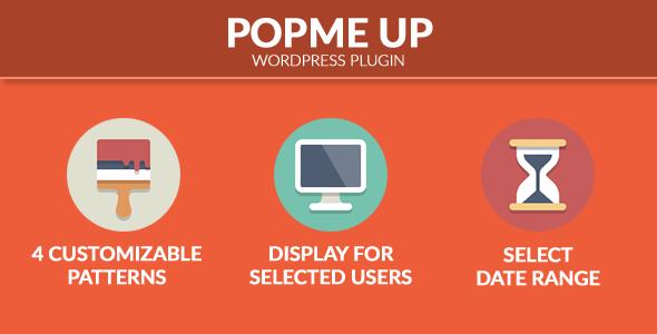 PopMeUp - WordPress pop-ups