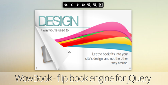 CodeCanyon WowBook create ebooks with page flip 1791563