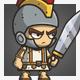 Micro Style Character – Roman Knight