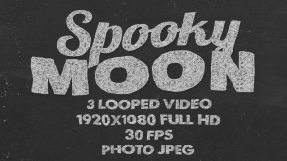 VideoHive Spooky Moon 18180428
