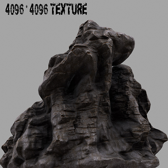 Rock.2 - 3DOcean Item for Sale