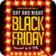 Day And Night Black Friday Flyer Sales