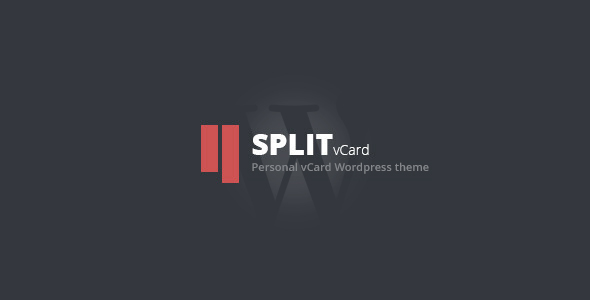 Split : WordPress CV/Vcard Template