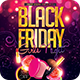 Black Friday Sales Girls Night Flyer
