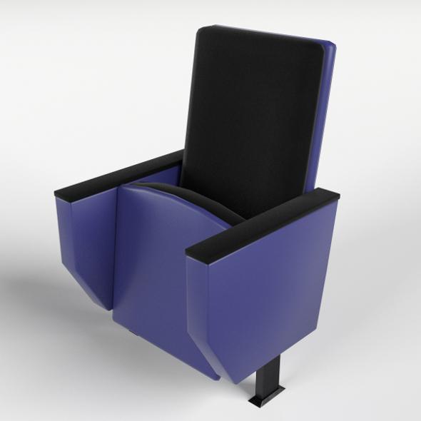 Cinema Theater Armchair 2 - 3DOcean Item for Sale