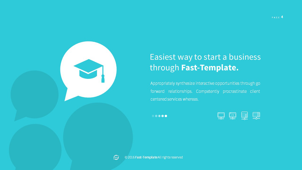 fast multipurpose powerpoint template pack by