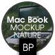 Computer Screen Mockup on Nature