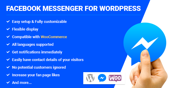 Facebook Messenger for WordPress - CodeCanyon Item for Sale