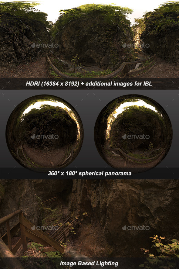 Wolfsklamm III HDRI - 3DOcean Item for Sale