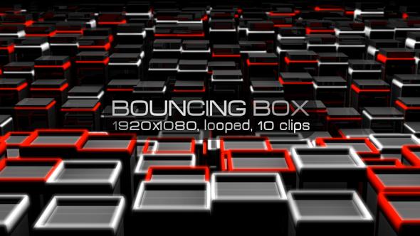 VideoHive Bouncing Box VJ Pack 18190475