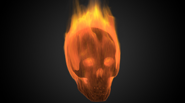 Download Skull in Fire nulled download