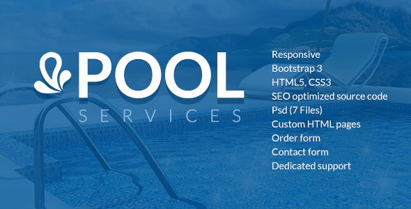 Pool Services HTML Template