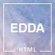 Edda - Creative Portfolio and Multipurpose HTML Template
