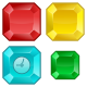 Diamond Rush - HTML5 Mobile and Desktop game + Admob