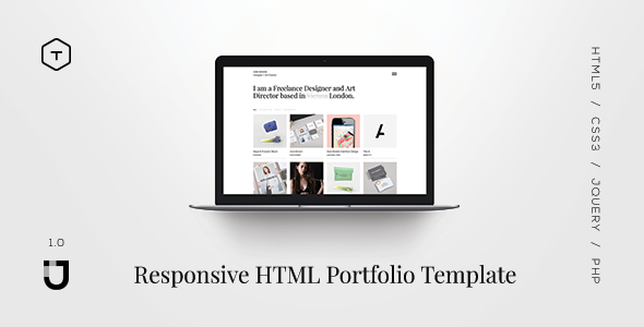 Jane - Responsive HTML5 Portfolio Template