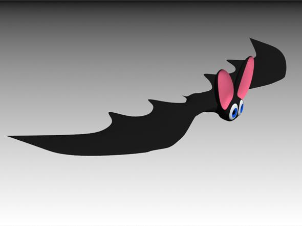A funny bat - 3DOcean Item for Sale