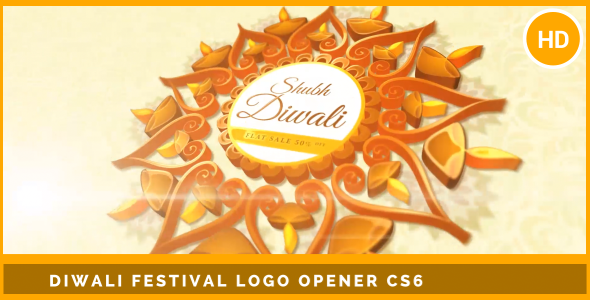 Download Happy Diwali Festival Logo Opener nulled download
