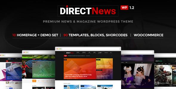 DirectNews - News & Magazine WordPress Theme
